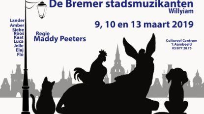 Saflet speelt 'De Bremer Stadsmuzikanten'