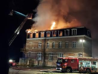 Brand in KTA-gebouw aangestoken: drie brandhaarden gevonden