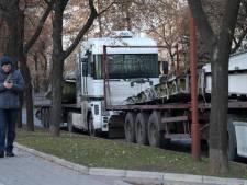 Les débris de l'épave du vol MH17 transférés à Kharkov