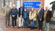 Roesbrugge ontvangt delegatie Saint-Victor
