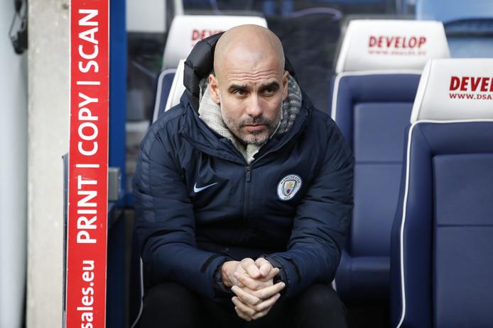 Manchester City-coach Pep Guardiola.