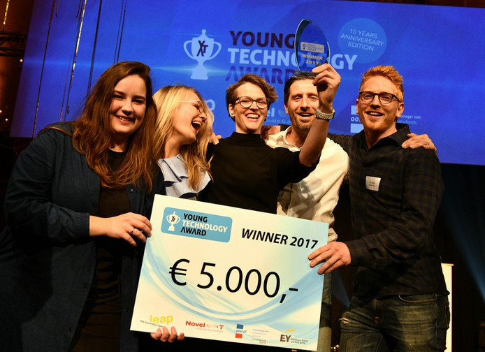 Swipeguide won vorige week de Young Technology Award.