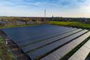Het nieuw zonnepark in Oldemarkt is bijna klaar voor gebruik.