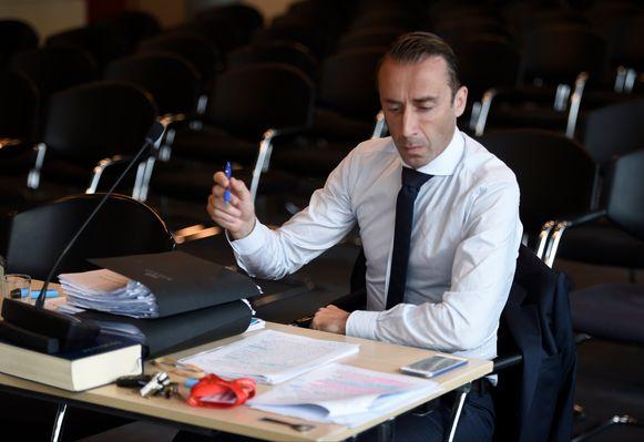 Thomas Gillis, de advocaat van Beerschot Wilrijk.