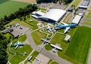 Het Aviodrome op Lelystad Airport.