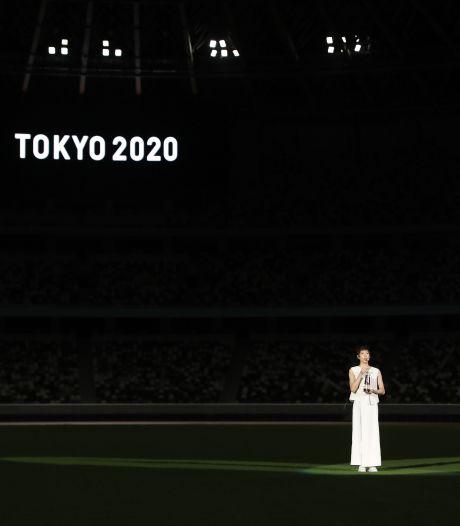 Precies één jaar voor Olympische Spelen in Tokio: sobere ceremonie in leeg stadion