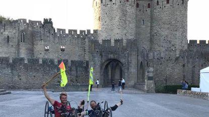 Avonturiers Jelle en Frank na 1.600km met handbike op bestemming