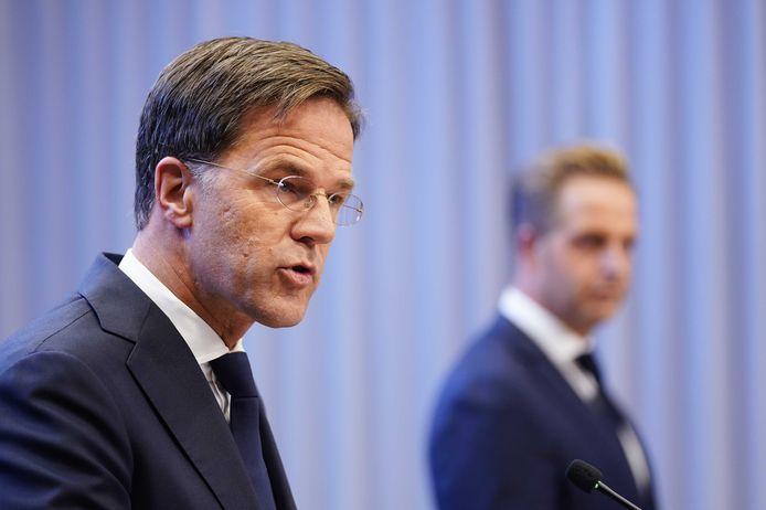 Le Premier ministre Mark Rutte