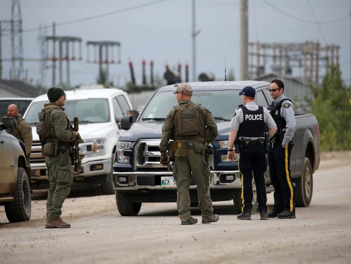 La police en pleine chasse à l'homme, le 30 juillet dernier