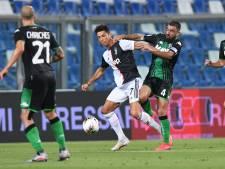 Juve komt met doelpuntrijk gelijkspel goed weg bij Sassuolo