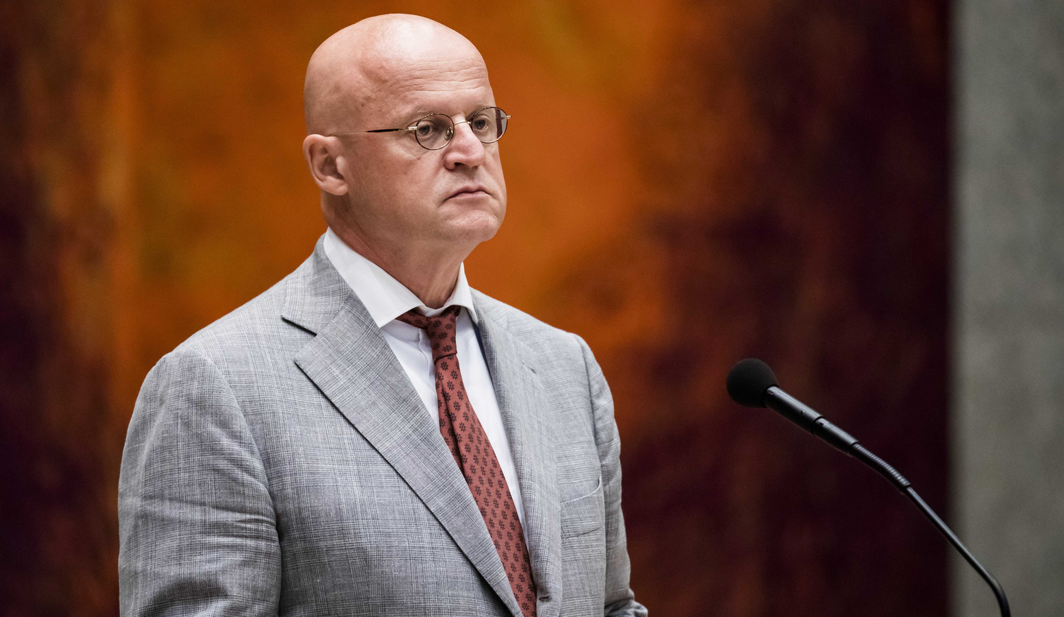 Minister Ferdinand Grapperhaus (Justitie en Veiligheid)