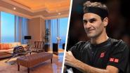 Privé-bewaking, Ferrari en uitstapjes met helikopter: in deze presidentiële penthouse in Dubai komt Roger Federer helemaal tot rust