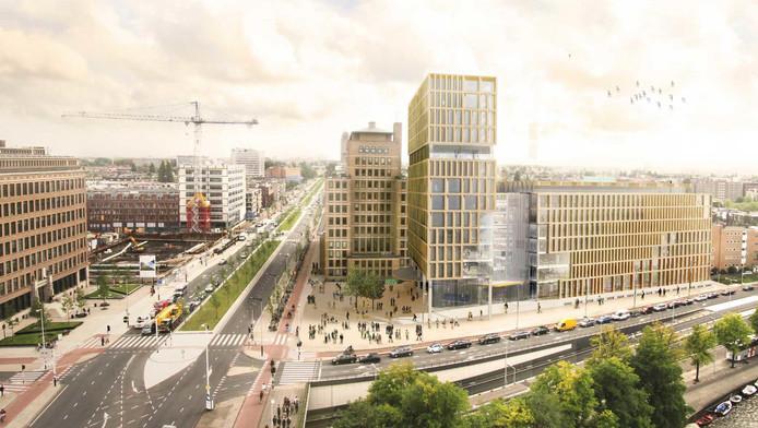 Qua uiterlijk zal het gebouw niet veel gaan verschillen van de eerder gepresenteerde plannen.
