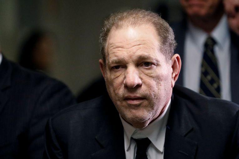 De gevallen filmproducent Harvey Weinstein.