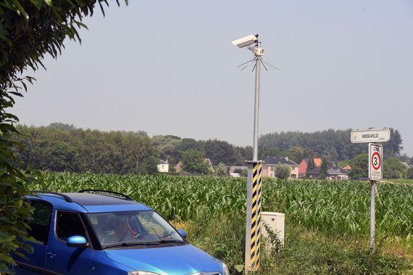 De omstreden ANPR-camera's in Everberg verdwijnen eind juli.