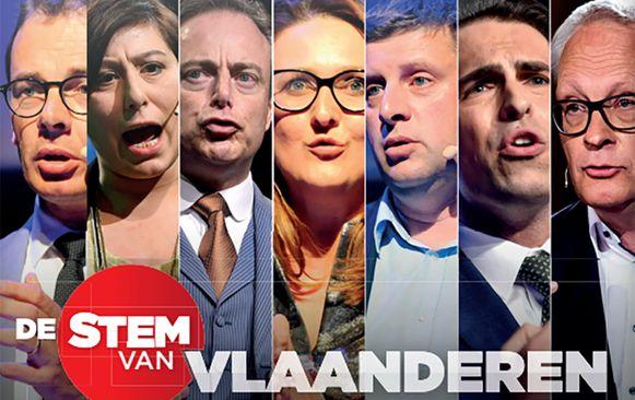 Op vrijdag 15 februari gaan de zeven Vlaamse partijvoorzitters in debat. Volg het debat dankzij onze exclusieve livestream.