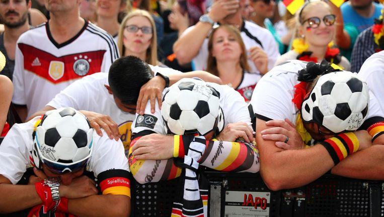 Duitsland liet in drie wedstrijden 72 doelpogingen noteren ¿ het meeste van alle ploegen op dit WK. Beeld ProShots