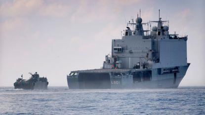 11 kilo harddrugs aangetroffen op Nederlands marineschip