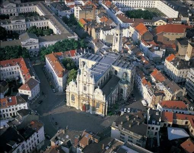 De Begijnhofkerk in Brussel.