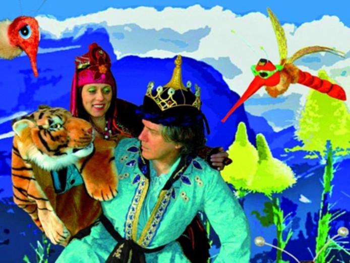 Kindervoorstelling 'Koning en de mug'.