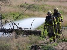 Heidebrand Hoog Soeren mogelijk aangestoken, politie verhoort verdachte
