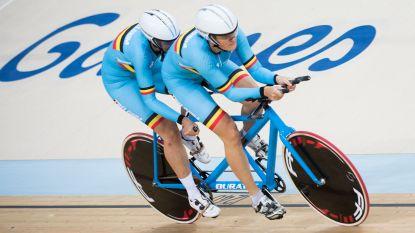 Damestandem Hoet-Monsieur bezorgt België vijfde medaille op WK paralympisch baanwielrennen