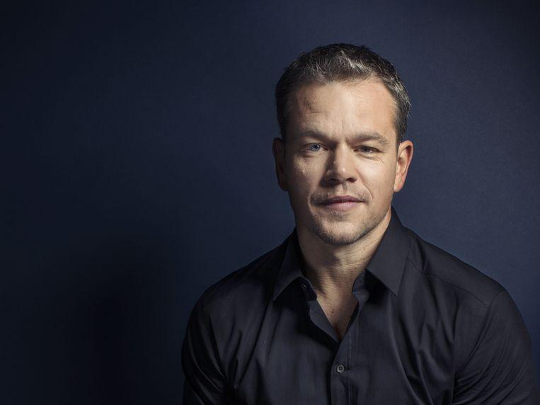 Matt Damon wordt vaak in één adem genoemd met Brad Pitt en George Clooney, maar op de een of andere manier altijd als laatste. Beeld null