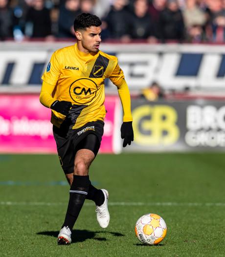 NAC-debutant Karami: 'Het heeft geen zin om erop te trainen als je het in de wedstrijd niet laat zien'