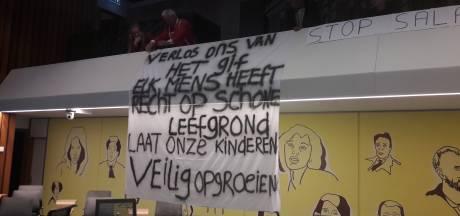 Plan kamp Bethaniënstraat opgeschort na 'gescheld' van bewoners