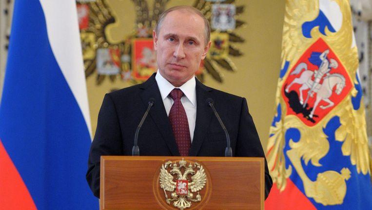 President Vladimir Poetin van Rusland Beeld ap