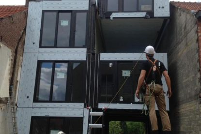 Huis bouwen met een échte blokkendoos