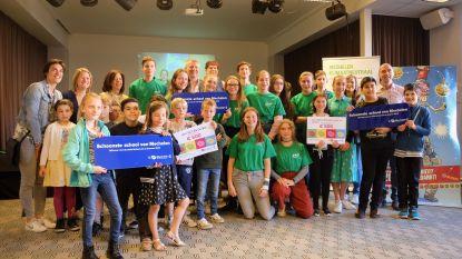 Drie scholen uitgeroepen tot Schoonste school
