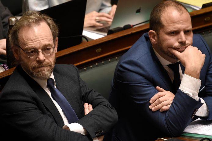 Peter De Roover et Theo Francken (N-VA)