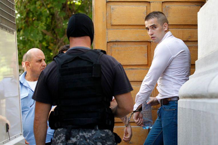 Mihai Alexandru Bitu (R). Beeld reuters