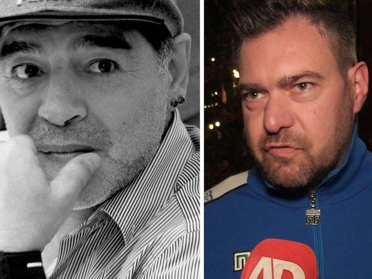 Sjoerd Mossou: 'De impact van Diego Maradona was gigantisch'