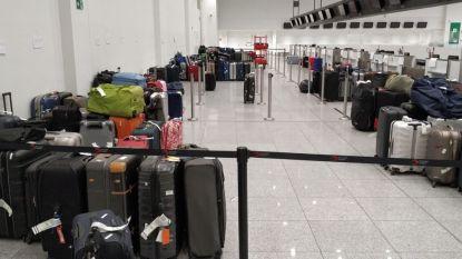 1.400 koffers blijven achter op Zaventem door overcapaciteit bagageband