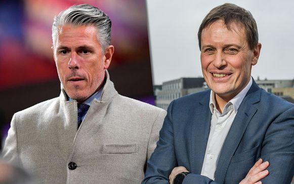 Links Michael Verschueren, rechts Karel Van Eetvelt.