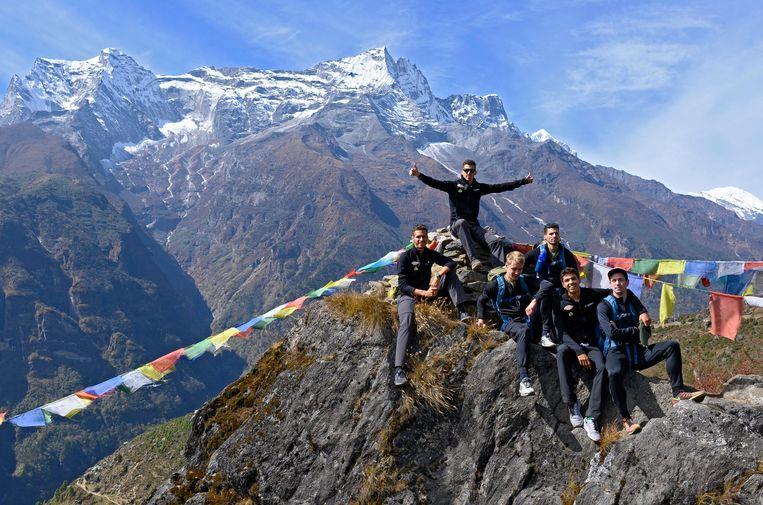 De Belgian Tornados op expeditie naar de Mount Everest.