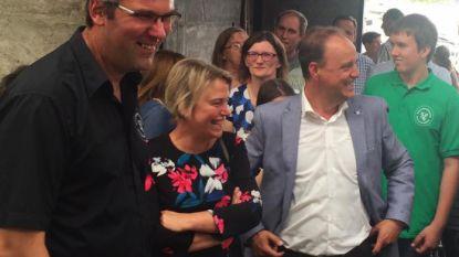Minister Schauvliege bezoekt Hof Ten Henne op Dag van de Landbouw