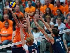 Volleyballers willen net als de vrouwen een voorbeeld zijn voor de jeugd
