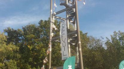 Groen hangt zwerfvuil aan VVV-Toren