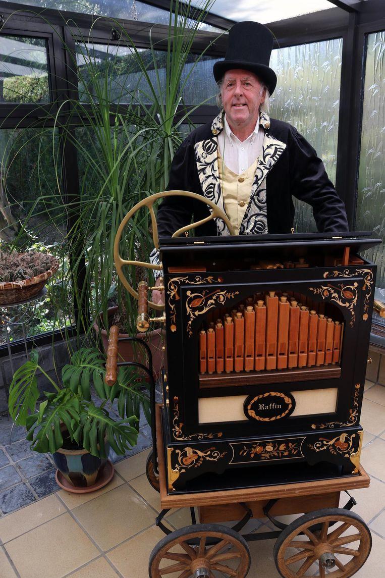 Willy Luyten draait morgen iets unieks op zijn orgel.