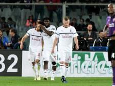 Milan behoudt aansluiting met Champions League-plaatsen