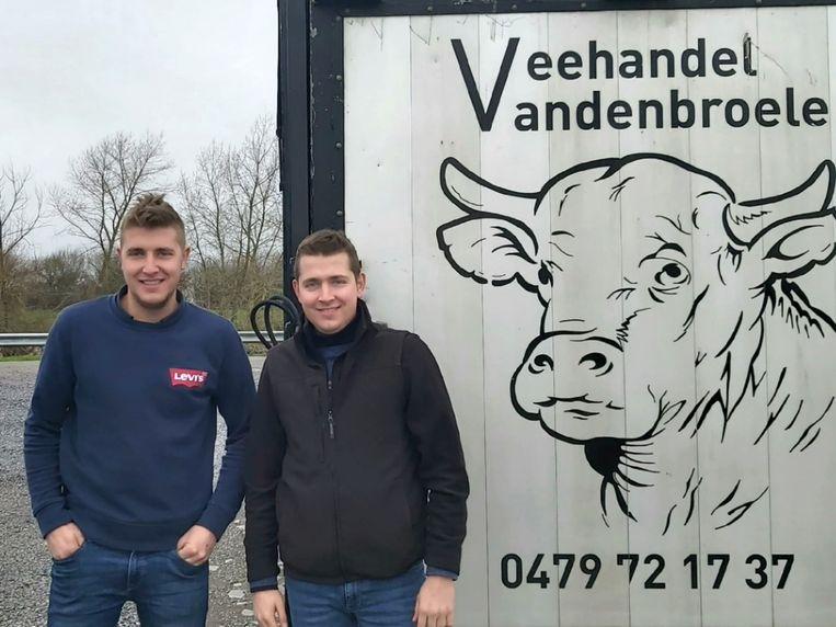 Jelle en Ewoud Vandenbroele vieren op 29 februari hun verjaardag.