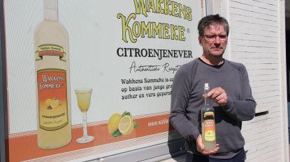 Drukker brengt citroenjenever Wakkens Kommeke opnieuw op de markt