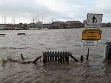 IJssel bij Kampen stond hoog, maar hoogwaterbrigade bleek niet nodig
