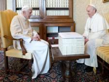 Benoît XVI de retour au Vatican