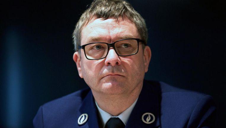 Peter De Waele, woordvoerder van de federale politie.