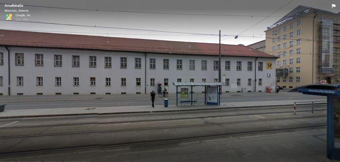 Het bewuste station in Duitsland