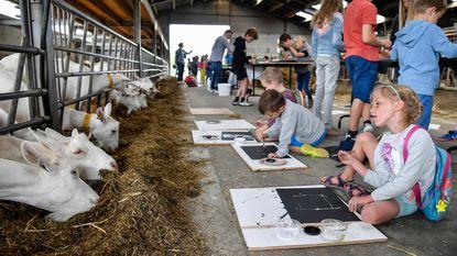 Academie sluit werkjaar af in boerderij 't Leenhof